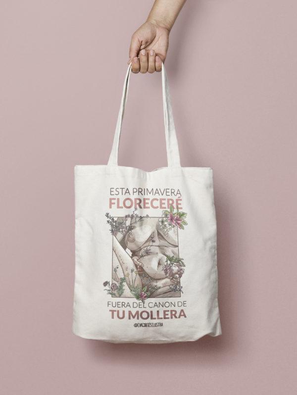 Bolsa ilustración Eva Cortés Ilustra
